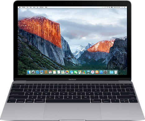 "Apple MacBook 12"" Retina MLH82 Space Gray"